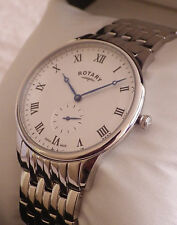 BRAND NEW Rotary Men's GB03638/06 Swiss Made Stainless Steel Bracelet Watch