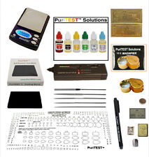 Gold/Silver Acid Testing Kit + Electronic Diamond GemstoneTester + Digital Scale