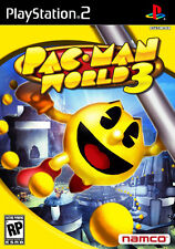 NEW SEALED Pac-Man World 3 PS2 Classic 2D+3D Video Game battle explore namco