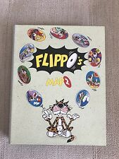 ALBUM FLIPPO MAP 2 CHESTER AND LOONEY COLLECTION TAZOS/POGS SMITHS - 241A TO 545