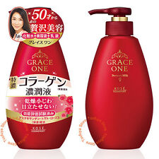 New KOSE Grace One Perfect Milk 3in1 Effect For Early Aging Care Emulsion 230ml