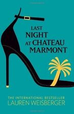 Last Night at Chateau Marmont BRAND NEW BOOK by Lauren Weisberger Paperback,2010