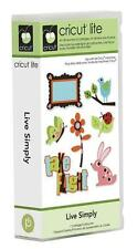 CRICUT *LIVE SIMPLY* SHAPES CARTRIDGE NEW SEALED *CUTE ANIMALS, BUTTERFLIES...*