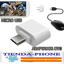 ADAPTADOR HOST OTG USB 2.0 HEMBRA A MICRO USB MACHO ON THE GO PEN DRIVE