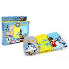 Robocar Poli Rescue Underwear 3pcs set for 4~5 years old / Poli panties 3pcs set