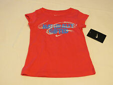 Nike active Nike TEE t shirt Toddler girls 2T 1-2 years 26A858 A72 DK Pink NWT^^