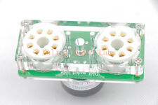 1pc Dual Gold plated 6BL7 TO 6AS7 tube converter adapter