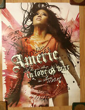 Music Poster Promo Amerie Mi Marie ~ In Love & War ~ DS Double Sided