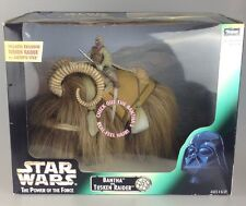 Star Wars Power Of The Force - Potf Scarce Bantha And Tusken Raider Boxed Set