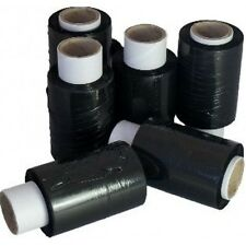 45 ROLLS OF BLACK MINI / HANDY PALLET STRETCH SHRINK WRAP