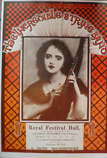 Incredible String Band poster - RFH 1969 Signed by Nigel Waymouth of Hapshash