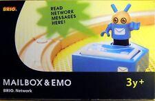 Brio 33287: Mailbox & Emo zu Brio Network, 3-teilig mit Figur, NEU & OVP