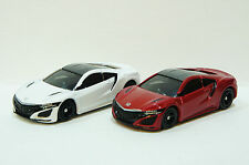TOMICA~ No.43 HONDA NSX White(初回) & Red 2 cars ~ 1/62  Free Shipping