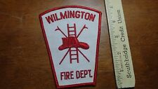 WILMINGTON  FIRE DEPARTMENT   PATCH  BX F #5