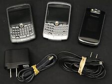 LOT of 3 BlackBerry Cell Phones for Parts/Repair ~ UsedHandhelds