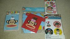 (8) Paul Frank Invitations and Thank You Cards Happy Birthday Banner Party BONUS