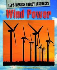 Wind Power (Let's Discuss Energy Resources)-ExLibrary