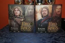 LOTR- SIDESHOW EXCLUSIVE- FARAMIR AND BOROMIR- SONS OF DENETHOR- 12 INCH-HOBBIT