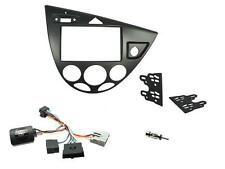 Connects2 CTKFD58 Ford Focus MK1 99-04 Complete Double Din Fitting Kit Graphite