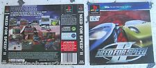 NEED FOR SPEED II (1997) PLAYSTATION 1 COVER, NO DISCO