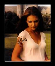 KATIE HOLMES AUTOGRAPHED SIGNED & FRAMED PP POSTER PHOTO