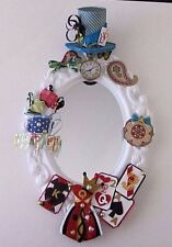 Alice In Wonderland Accent Wall Mirror Mad Hatter Tea Party Home Decor