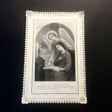 Image Pieuse La Parole De Dieu Ch. Letaille Paris N°521 Dentelle