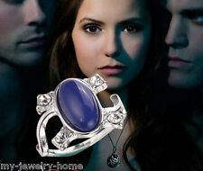 The Vampire Diaries Elena's Classic Daylight Sun Protection Ring Lapis Lazuli