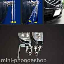 Universal Car Adjustable License Plate Relocator Bracket Holder Mount Support