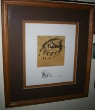 "Framed Lithograph by Beverly Doolittle ""No Respect"" Pencil Signed #6251/25,000"