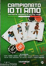 DVD=CAMPIONATO IO TI AMO=1987/88=CON INCLUSO FASCICOLO ALMANACCO DEL CALCIO