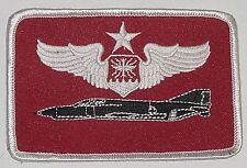 Patch US Air Force, GAF Uniform Insignia PHANTOM Senior Navigator Wings ...A3456
