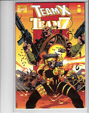 TEAM X VS TEAM 7 #1 DELUXE FORMAT ONE-SHOT WOLVERINE