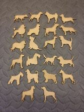 mdf  wooden dogs various /shape /  sign / stencil
