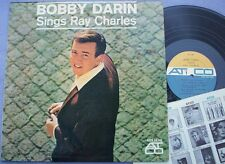 BOBBY DARIN SINGS RAY CHARLES USA Atco DG MONO 1st 1960s POP BEAT