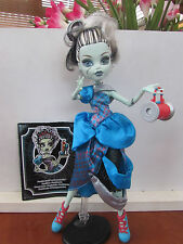 Monster High Threadarella frankie Diary, Bag & Stand VGC