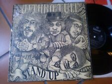 LP MEGARARE JETHRO TULL STAND UP ITALY 1ST PRESS ISLAND BLACK LABEL 1 EYE 22036