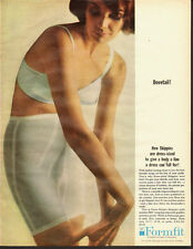 1964 Vintage ad for Formfit`Dress-size New Skippies`Girdles`Sexy Model