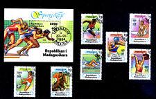 COLLEZIONE MADAGASCAR  LOTTO 8 FRANCOBOLLI  Stamps  FRANCOBOLLO