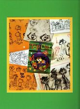 TOP CAT & The GANG COLLAGE Professionally Matted Print HB