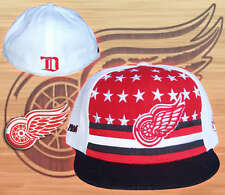 Detroit  Red  Wings  Cap Hat  Authentic Fitted   7  1/4