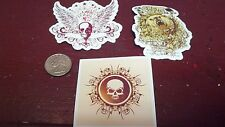 SKATEBOARD STICKERS, SET OF 3, COLLECTOR SERIES, #04092014652