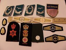 MILITARY 14 PIECE LOT PATCHES FROM ESTATE AUCTION WAS $60