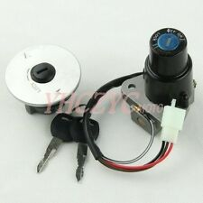 Ignition Switch Gas Cap Key for Yamaha FZR250 87-88 FZR400 88-90 FZR600 89-93