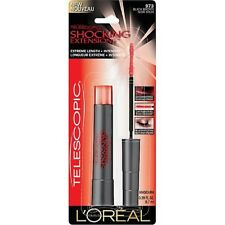 L'OREAL PARIS Telescopic Shocking Extensions Mascara-#973 Black Brown NIP