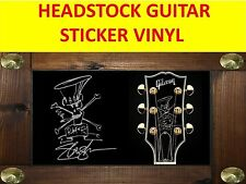STICKER GUITAR SILVER SLASH GUNS N'ROSES VISIT OUR STORE WITH MANY MORE MODELS