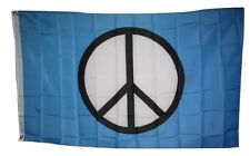 World Peace Sign Symbol SuperPoly 3x5 Flag Banner indoor/outdoor grommets