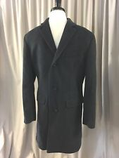 J. CREW Ludlow topcoat in Italian wool-cashmere F5543 size 36S Heather Charcoal