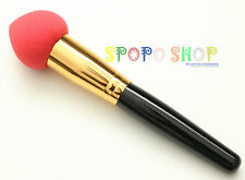 Pro Liquid / Cream Foundation Concealer Sponge Blender Brush Foam Applicator RED
