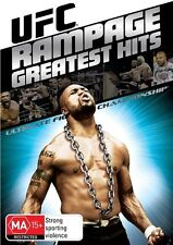UFC - Rampage Greatest Hits (DVD, 2010) New Sealed